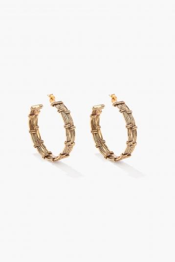 Ava hoop earrings