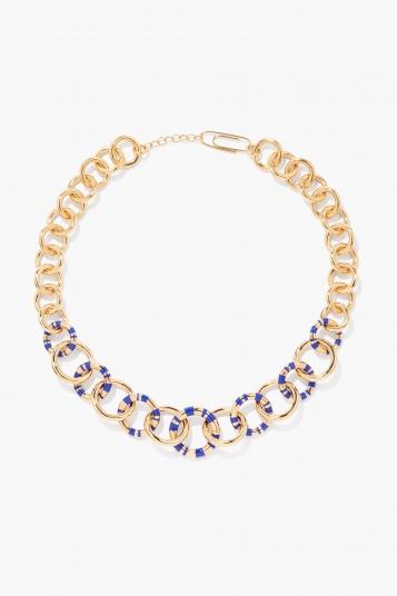 Blue Positano Necklace XL