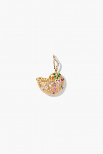 Nautilus earring