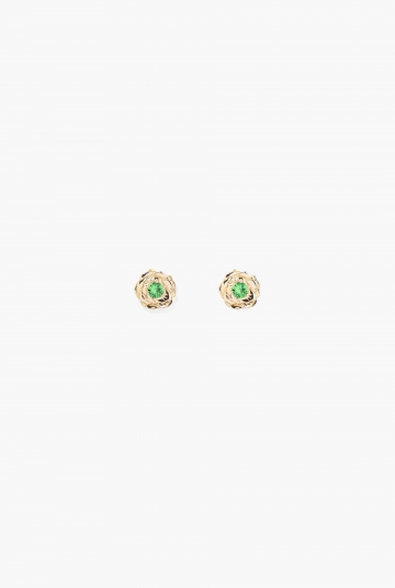 Tsavorite Bouquet earring