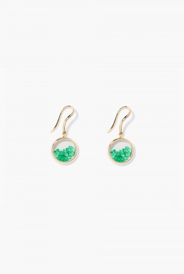 Emeralds Chivor earrings