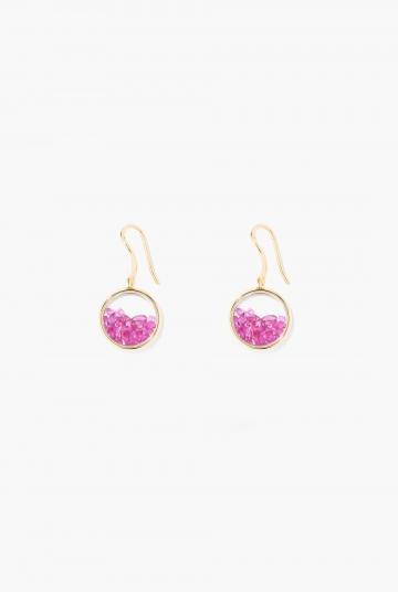 Rubies Chivor earrings