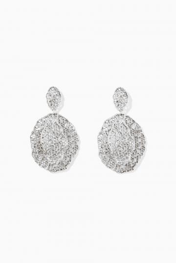 Silver Vintage Lace earrings