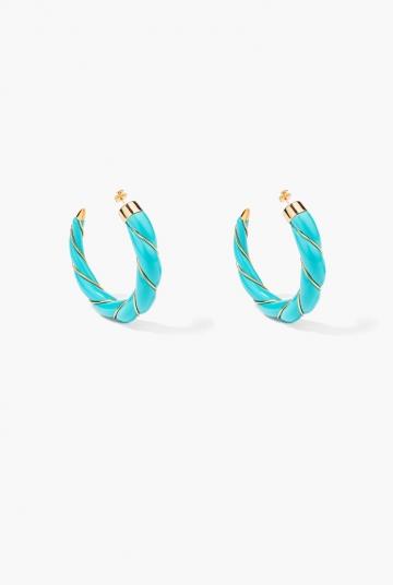 Turquoise Diana earrings
