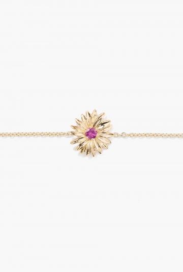 Rhodolite Garnet Bouquet bracelet