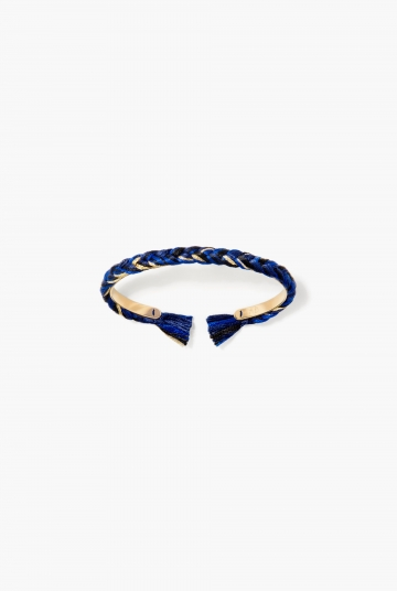 Navy blue Copacabana thin bangle