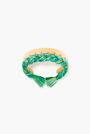 Green emerald Copacabana bangle