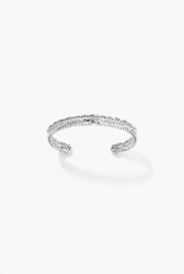 White gold Lace bracelet
