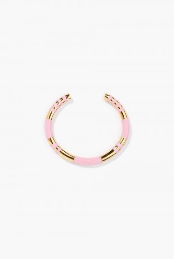 Baby pink Positano bangle