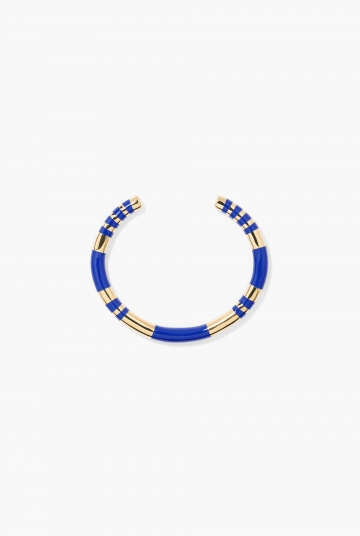 Blue lapis Positano bangle