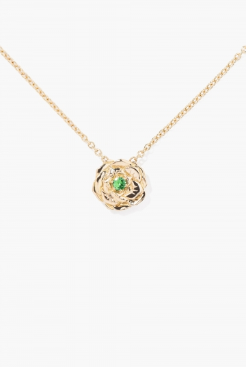 Tsavorite Bouquet necklace