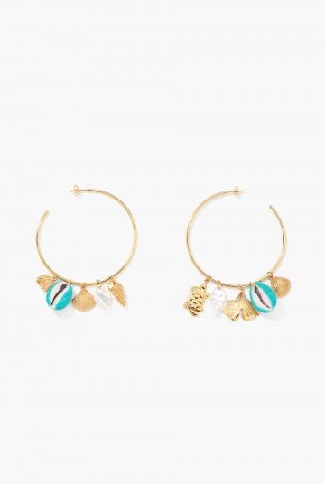 Aguas Merco turquoise earrings