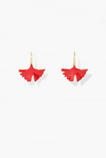 Vermilion Tangerine earrings