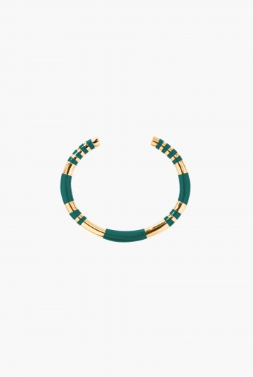 Green Emerald Positano Bangle