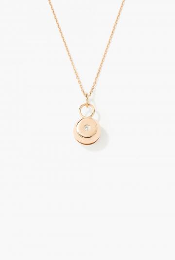 Diamond Bell pendant