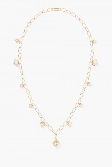 Albizia long necklace