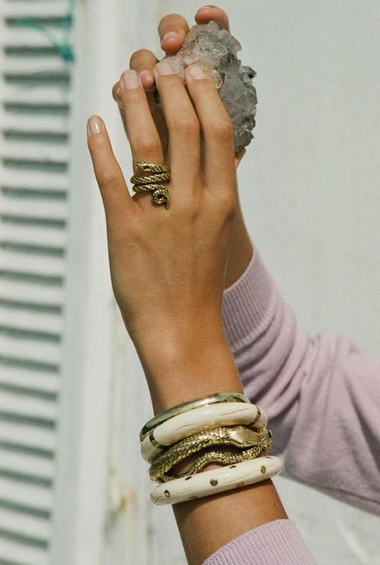 Tao ring, Caftan, Maria and Tao Bracelets