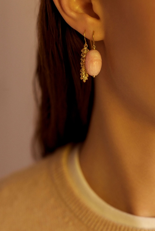 Aurélie and Scarab earrings