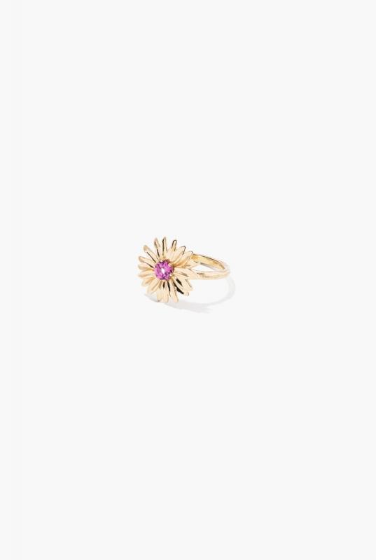 Rhodolite Garnet Bouquet ring
