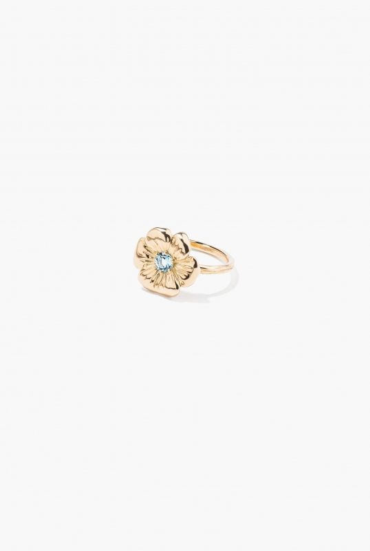 Topaz Bouquet ring
