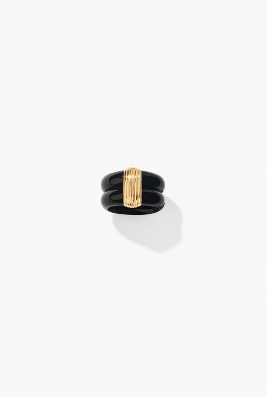 Black KATT RING