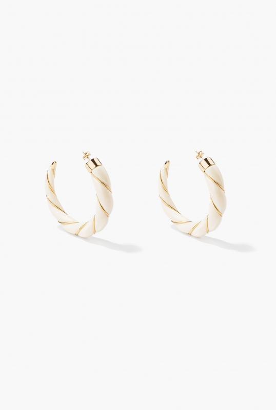 Ivory Diana earrings
