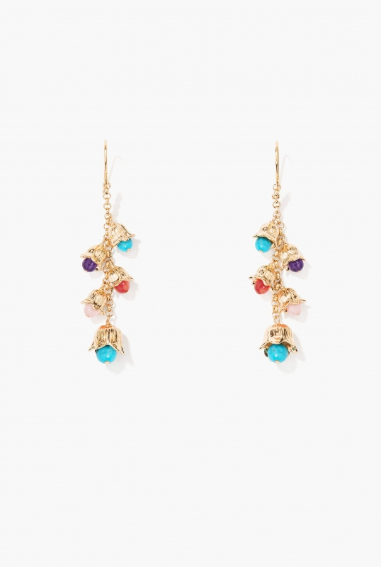 Boucles d'oreilles Lily of the Valley
