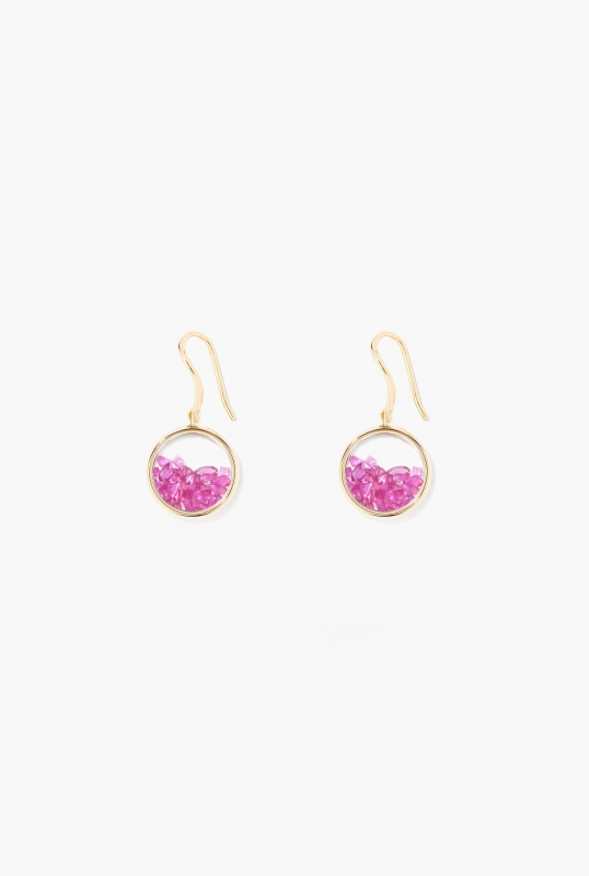 Rubies Chivor earrings