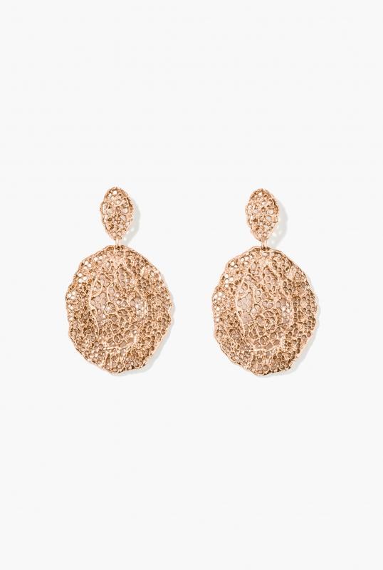 Rose Vintage Lace earrings