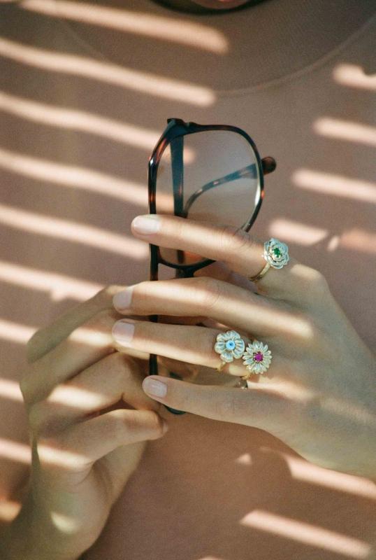 Bouquet rings