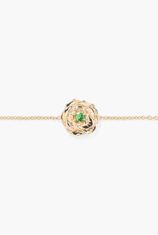 Tsavorite Bouquet bracelet
