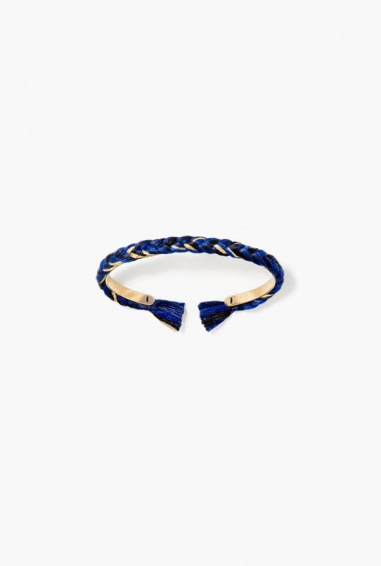 Navy blue Copacabana thin bangle