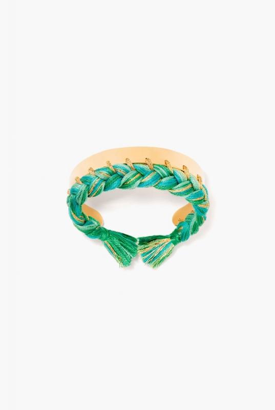 Green emerald Copacabana bangle