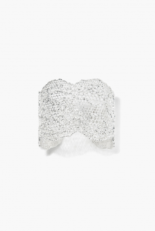 Silver Vintage Lace bracelet