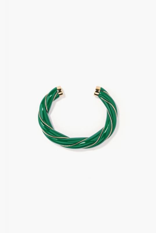 Emerald Diana bangle