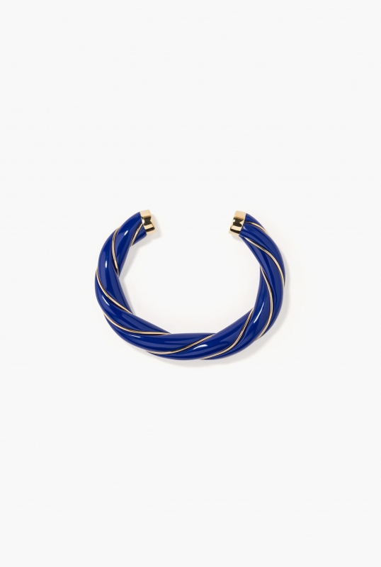 Navy Diana bangle
