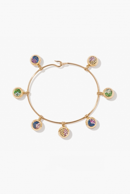 Multi bells bracelet
