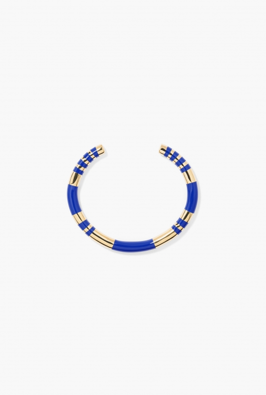 Blue lapis Positano bangle