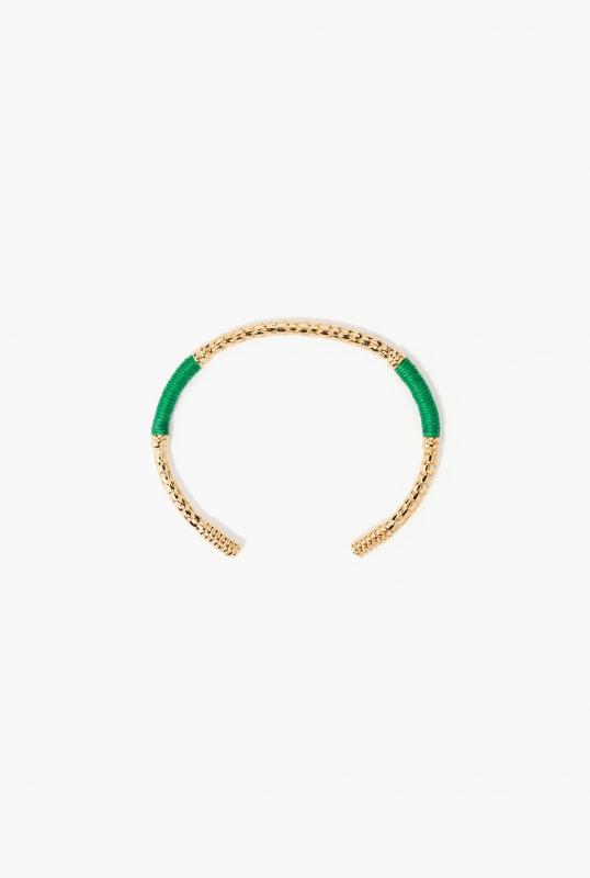 Green emerald Soho bracelet
