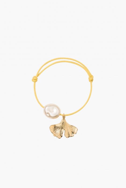 Grigri Ginkgo bracelet