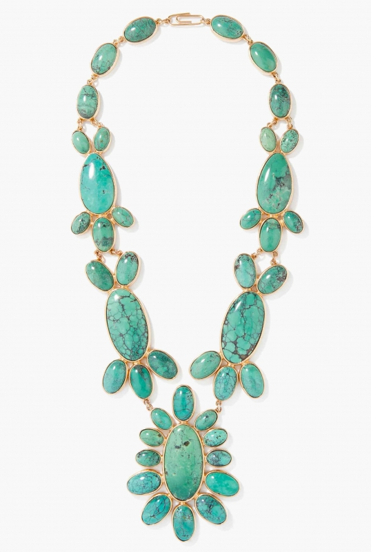 Turquoise Cherokee Necklace