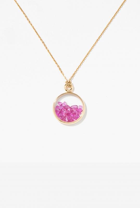 Rubies Baby Chivor pendant
