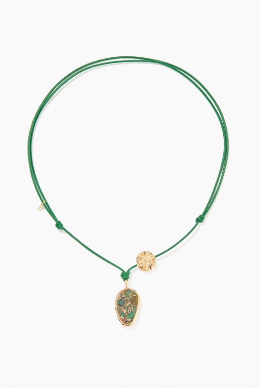 Green Paraty necklace