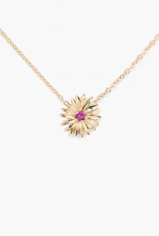 Rhodolite Garnet Bouquet necklace