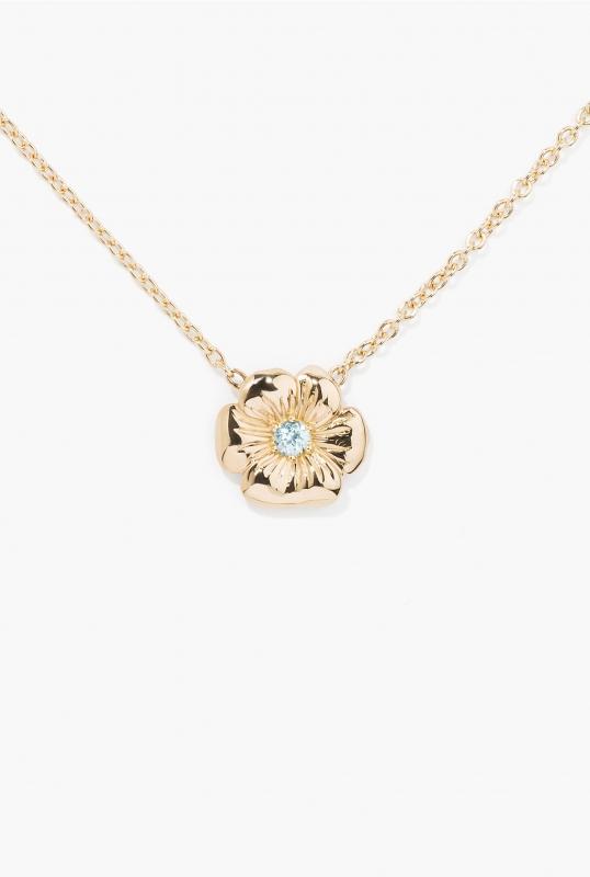 Topaz Bouquet necklace