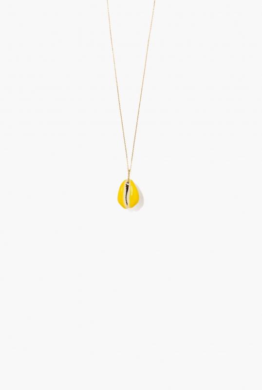 Merco necklace fluorescent yellow
