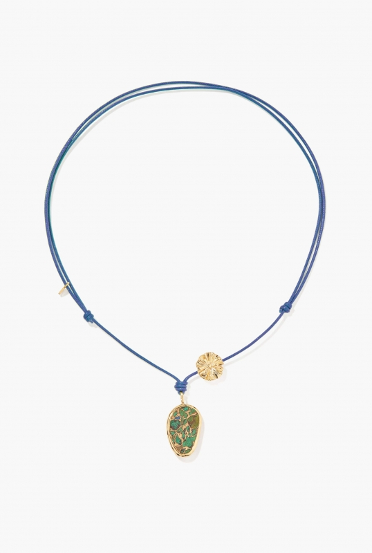 Blue Paraty necklace