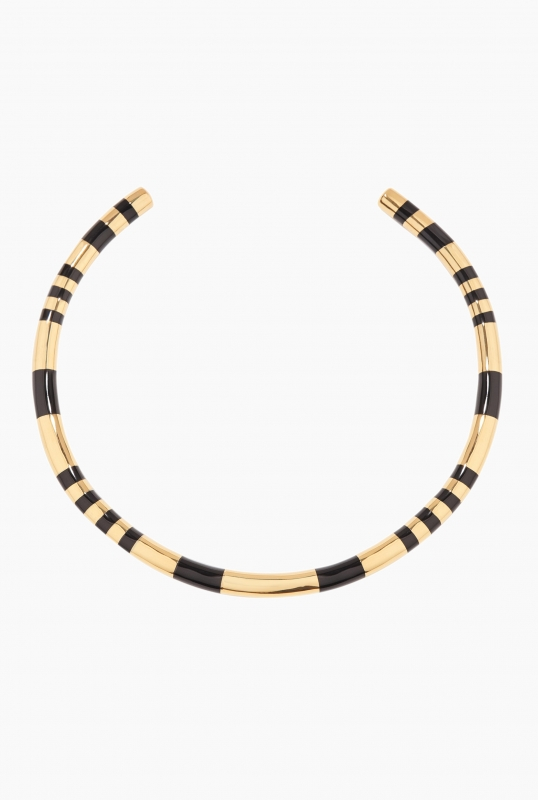 Black Positano necklace