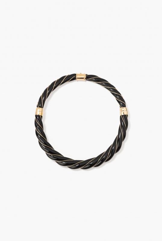 Diana Black Necklace
