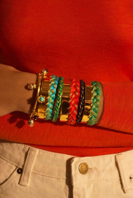 Bracelets Copacabana et Lily of the Valley